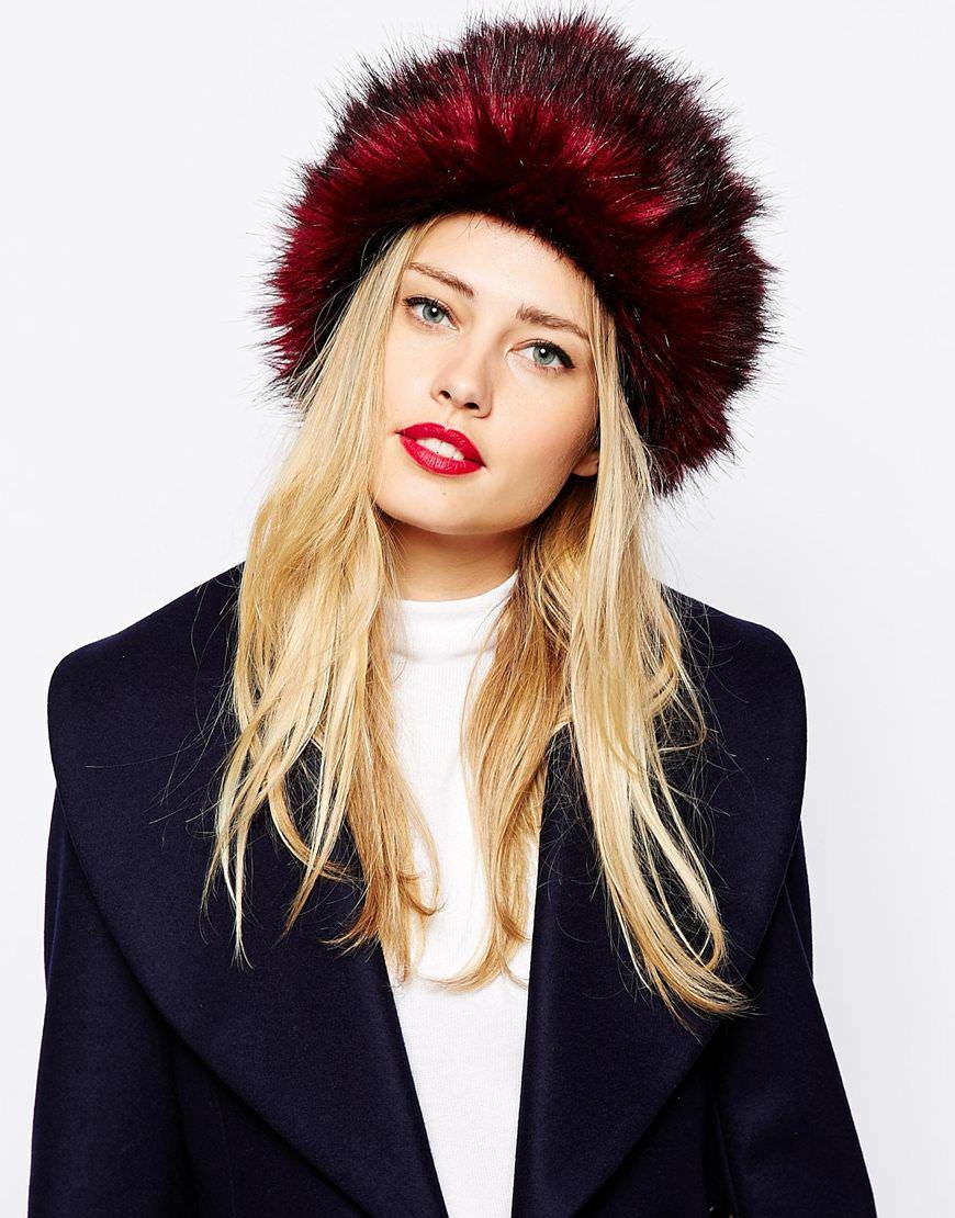 Ted Baker Faux Fur Hat £47.00 - ASOS - Image: ASOS