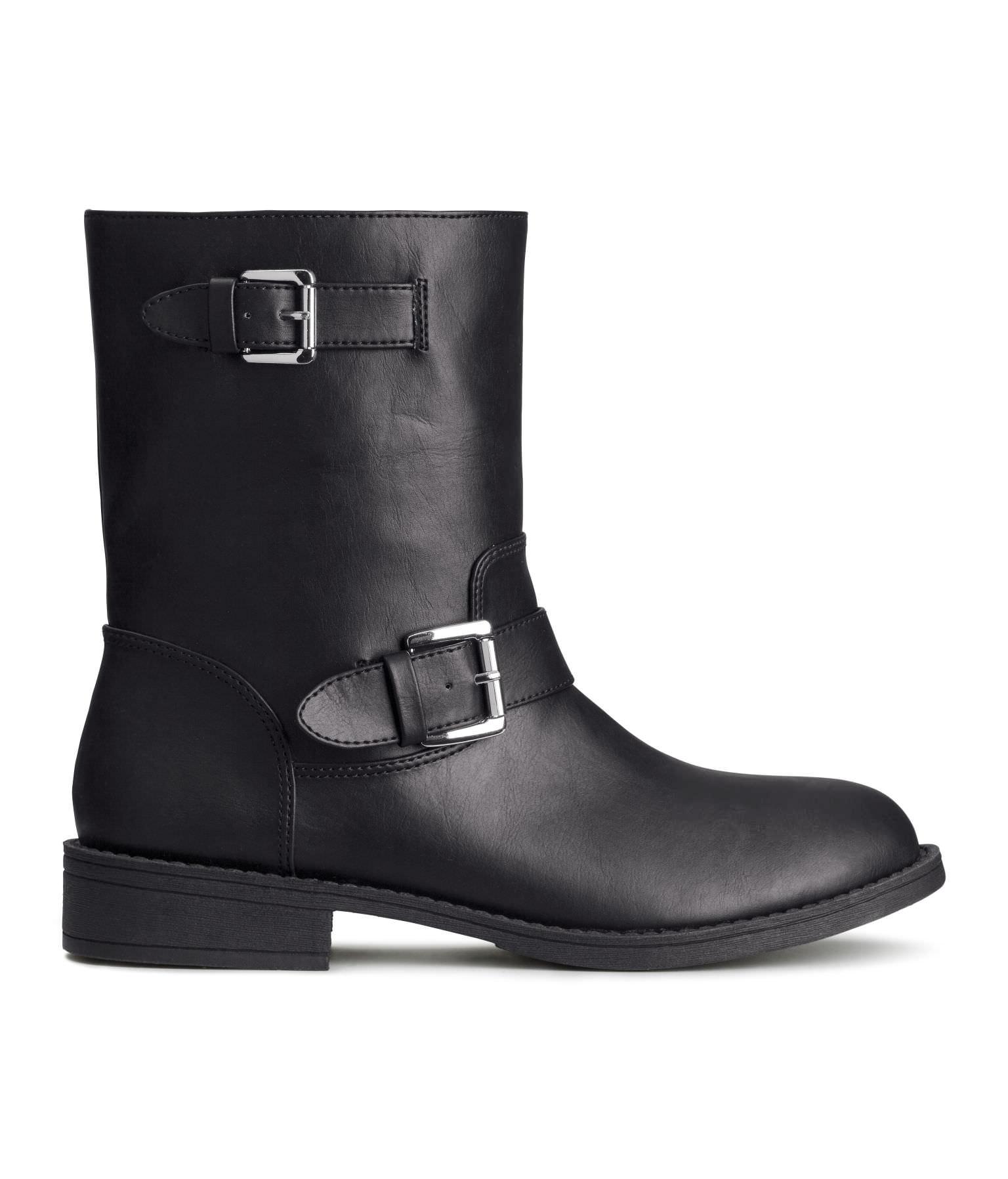 Biker boots - £15.00 H&M