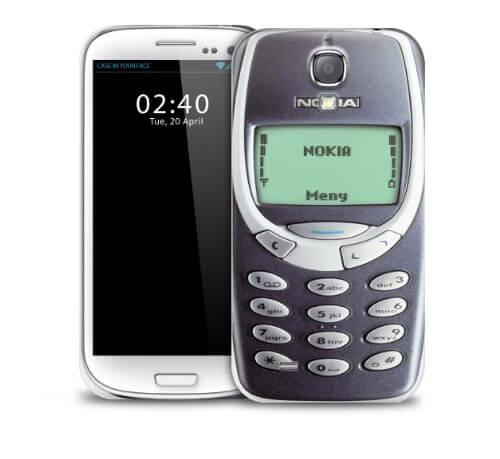 Retro Nokia Case